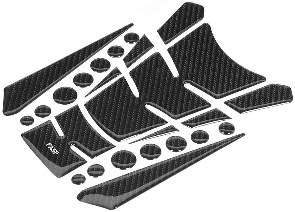 Gorgeri Fuel Tank Pad - Carbon Fiber 5D Motorcycle Fuel Tank Pad Protector Sticker Fit for GW250
