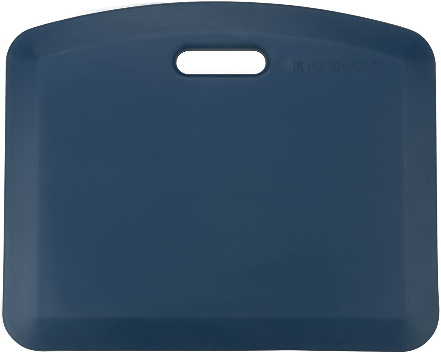 MaxMat Anti Fatigue Comfort Floor Mat -Commercial Grade Quality Perfect for Standup Desks, Kitchens, and Garages - Relieves Foot, Knee, and Back Pain 22X18X4/5inch (Blue)
