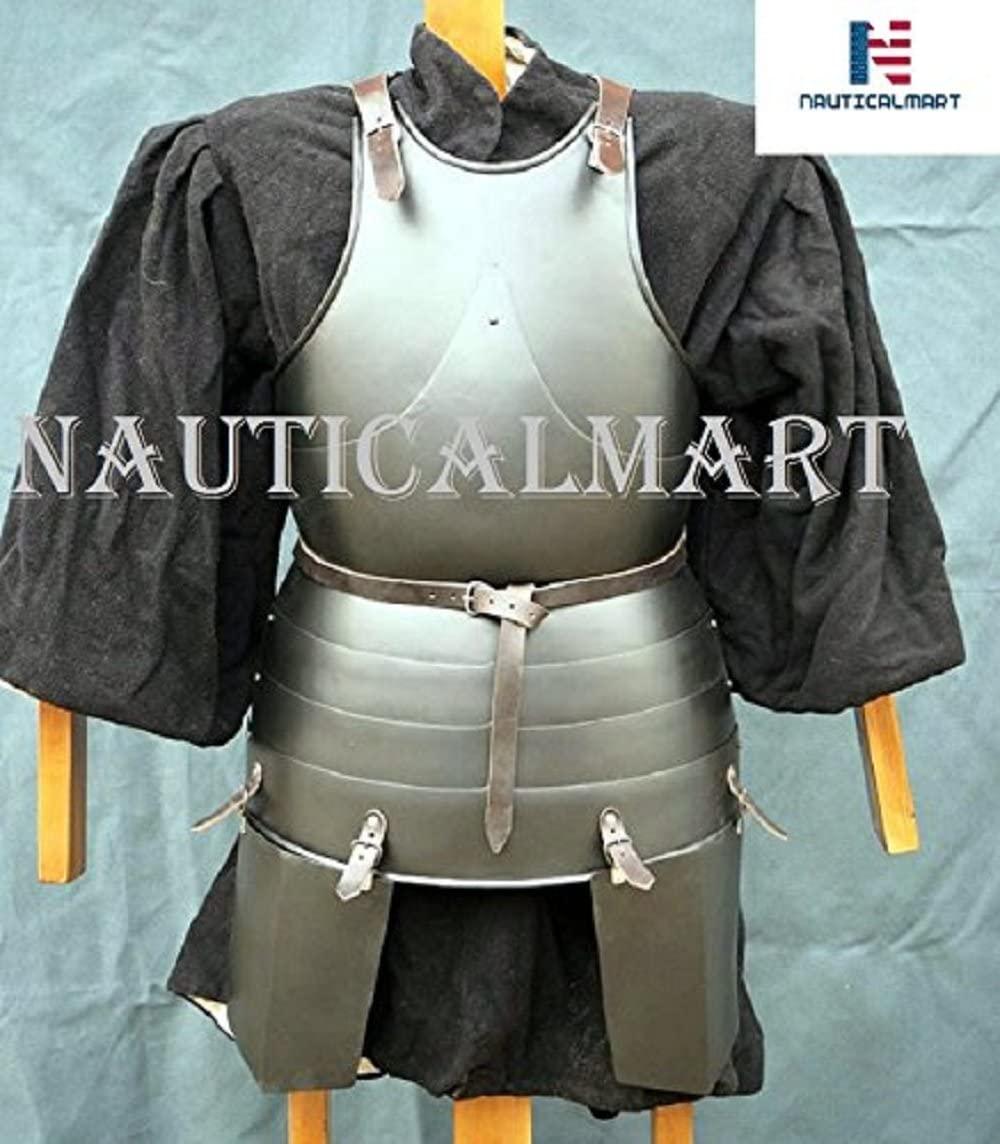 NAUTICALMART Medieval Knight Reenactment Armour Breastplate Cuirass