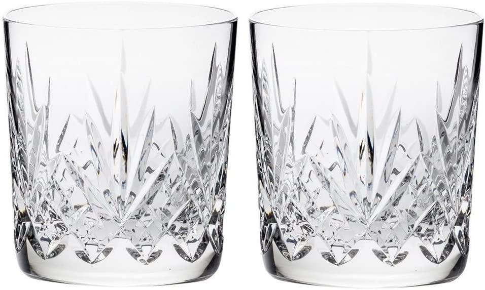 Royal Scot Crystal Highland Whisky Tumblers 11 oz Set of 2