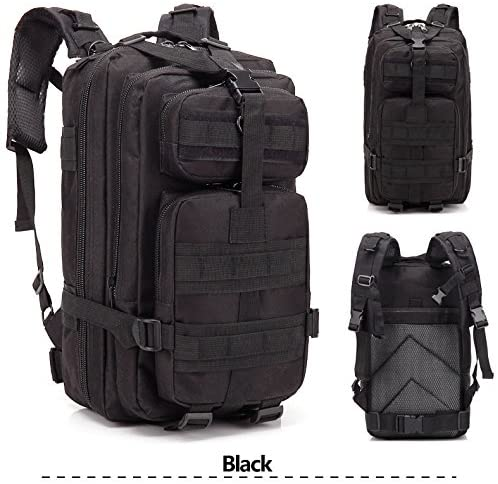 Azadx 30L Waterproof Tactical Backpack, Assault Pack Sport Bag for Outdoors