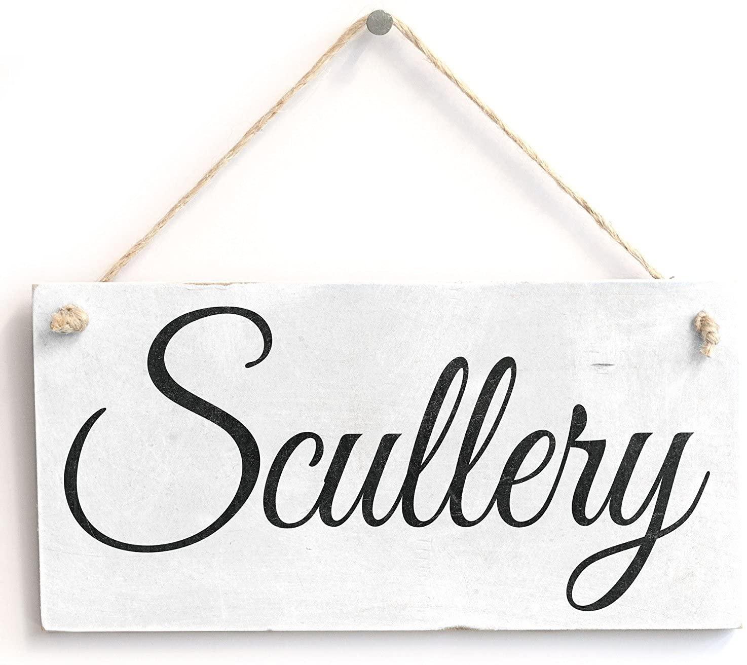 Meijiafei Scullery - Vintage PVC Sign/Plaque 10