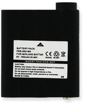 Empire 2-Way Radio Battery, Works with Midland XT511 2-Way Radio, (Ni-MH, 6V, 700 mAh) Ultra Hi-Capacity, Compatible with Midland BATT5R Battery