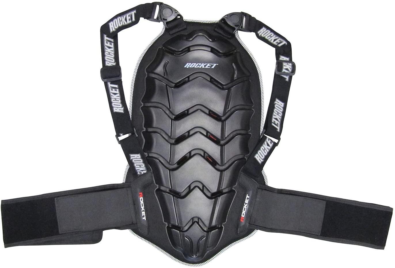 Joe Rocket 1259-1003 Speedmaster 2.0 Back Protector (Black, Medium)
