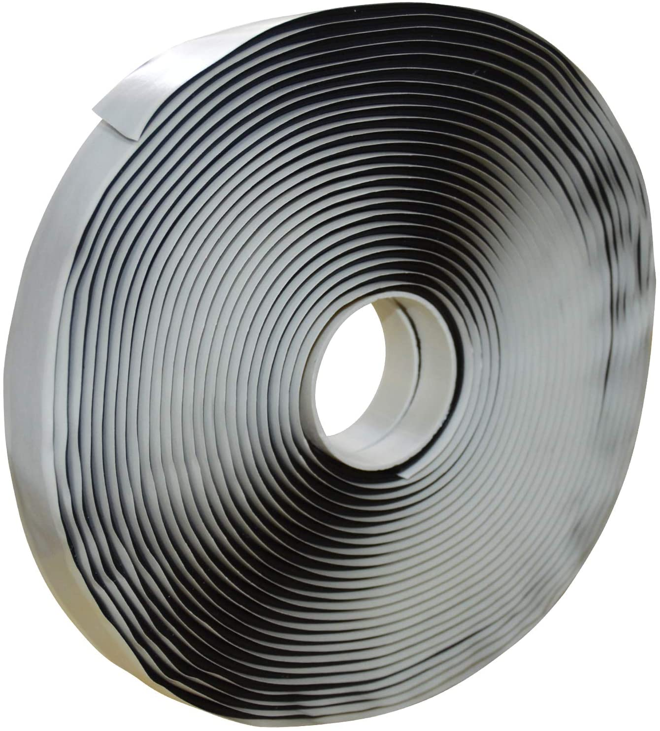 LLPT Butyl Seal Putty Tape Black 1/8 Inch Thick x 3/4 Inch Wide x 33 Feet Extra Thick for Leak Proof RV Repair Window Glass Boat Sealing EPDM Roof Patching (BST343)