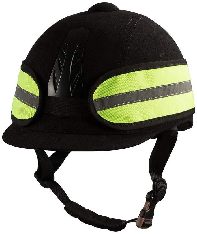 HORZE Reflective Helmet Band - ONE Size, Yellow(YE)