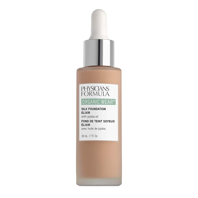 Physicians Formula Organic Wear Silk Foundation Elixir, 3 - Light, 1 Fl Ounce
