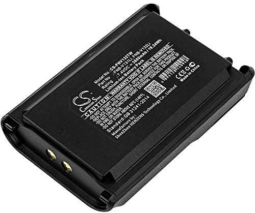 Replacement Battery Part No.FNB-V131Li, FNB-V132Li for YAESU VX-230, VX-231, VX-231L, Two-Way Radio Battery