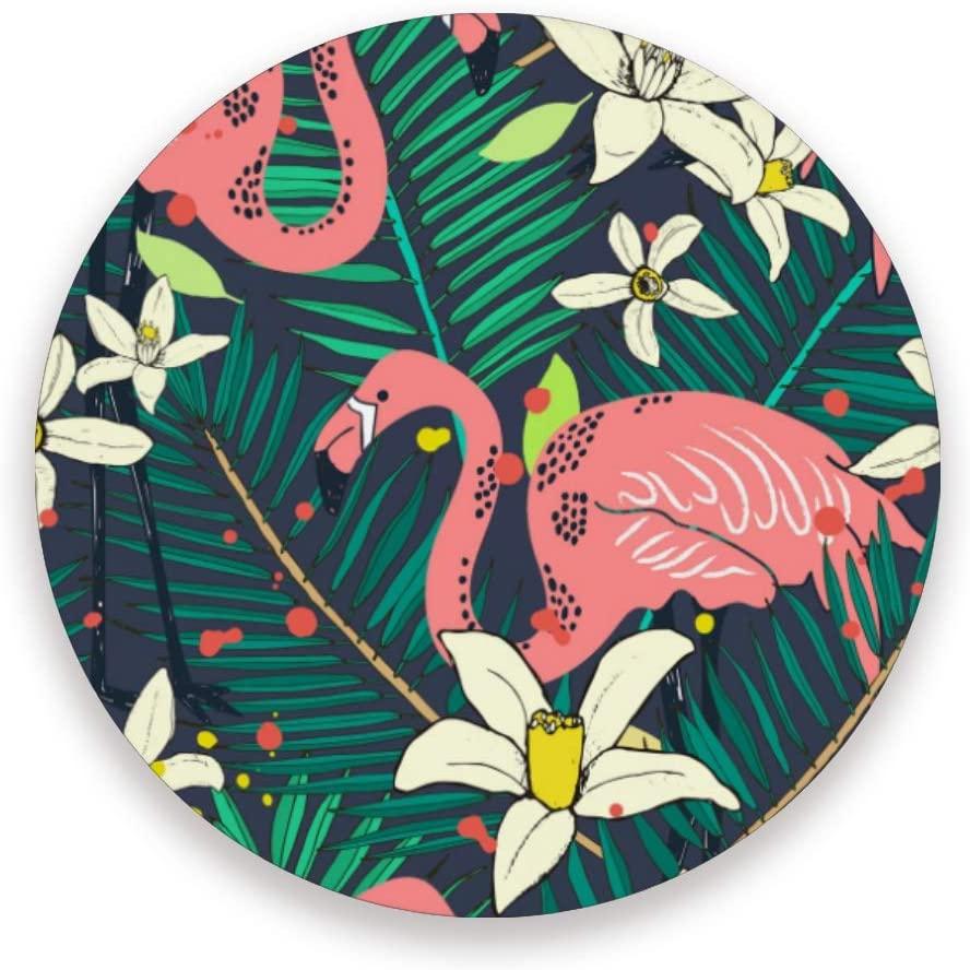 Isolated Birds Round Coaster Set Table Coasters