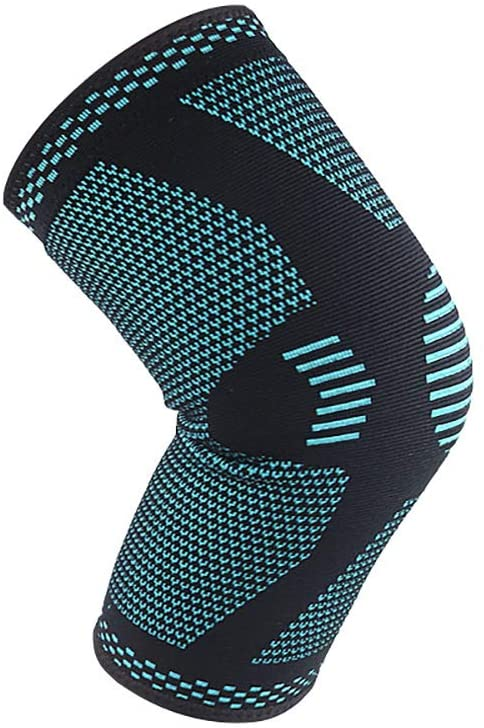 Sports Knee Braces to Keep Warm Female Men Fitness Running Cycling Knee Support Braces Sport Compression Knee Pads (Green, XL)