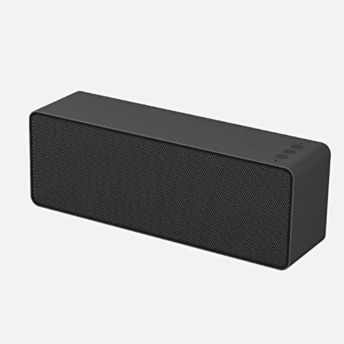 CffdoiLyx Bluetooth Speaker, Portable Bluetooth Speaker High Power Home Stereo Wireless Speaker for Computer,Phones Support Tf Card,Power Bank (Color : Black)
