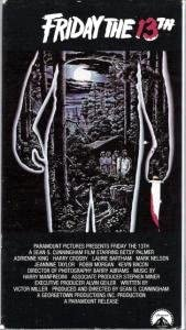 Friday the 13th [VHS]