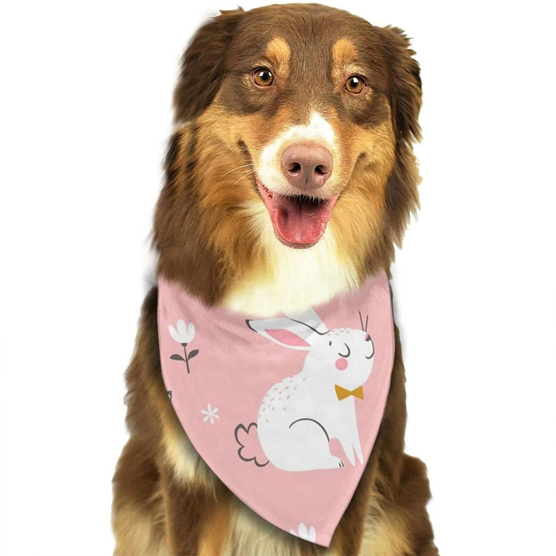 Lisang Doodle Swirls Seamless Dog Bandana, Pet Bandana Scarf Triangle Bibs Kerchief Pet Costume Accessories Decoration for Small Medium Large Dogs Cats Pets