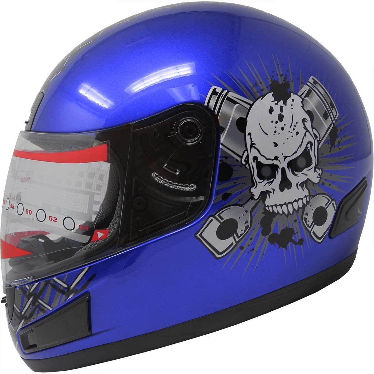 X4 Motorcycle Street Sport Bike Helmet Full Face Helmet F98