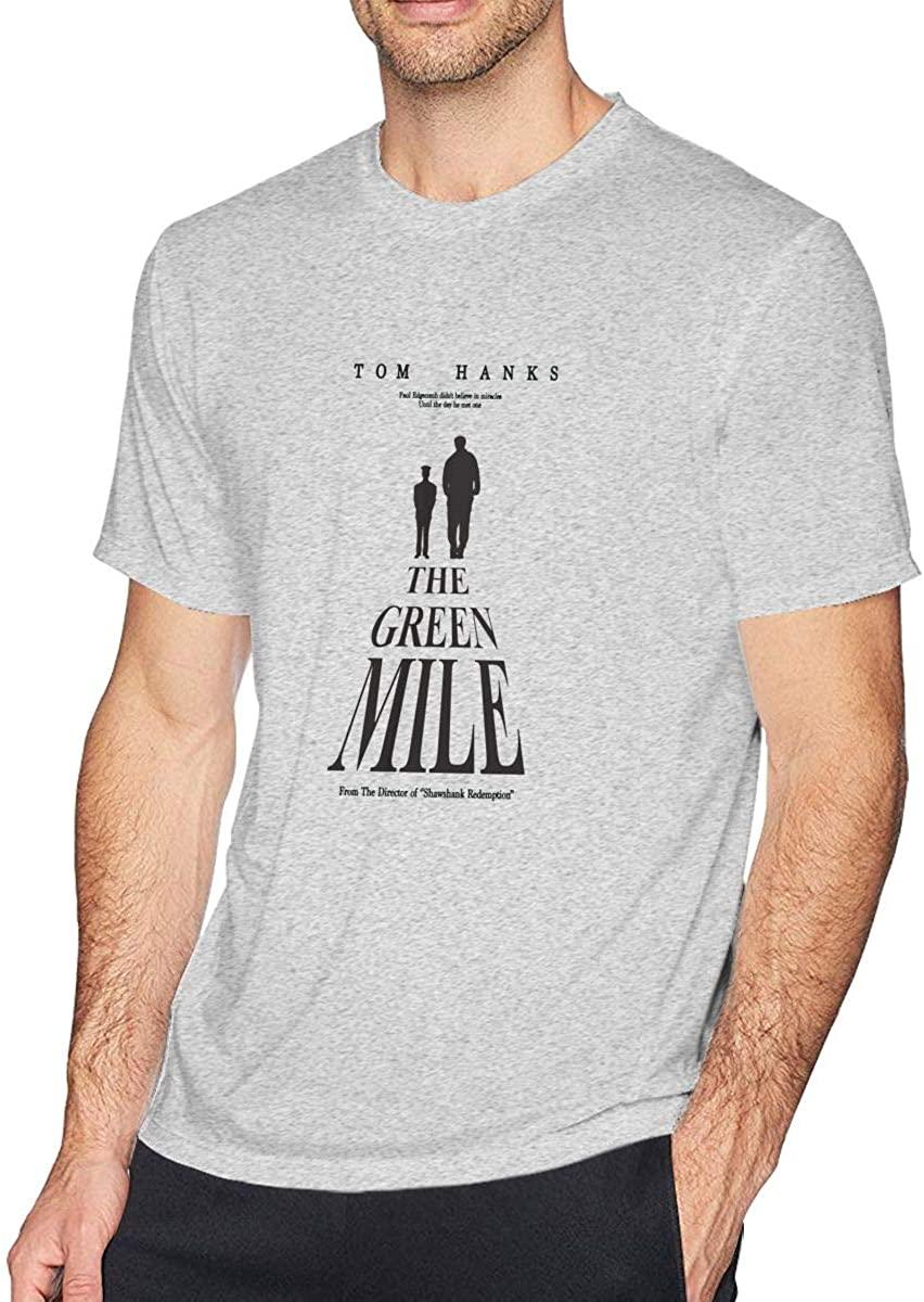 The Green Mile Mens Short T Comfortable Stylish