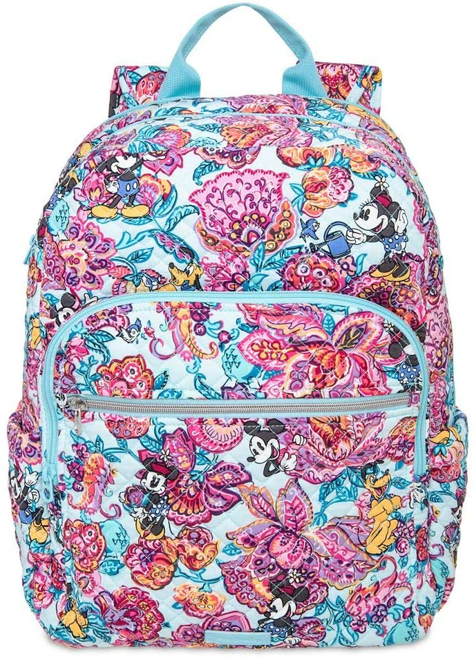 Disney Mickey Mouse and Friends Colorful Garden Iconic Campus Backpack