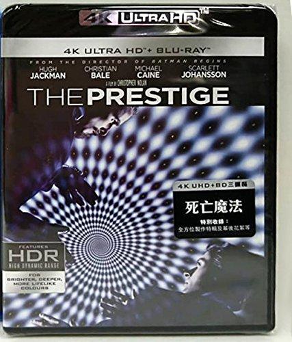 The Prestige (3 Disc) (4K UHD + Blu-Ray) (Hong Kong Version / Chinese subtitled) 死亡魔法