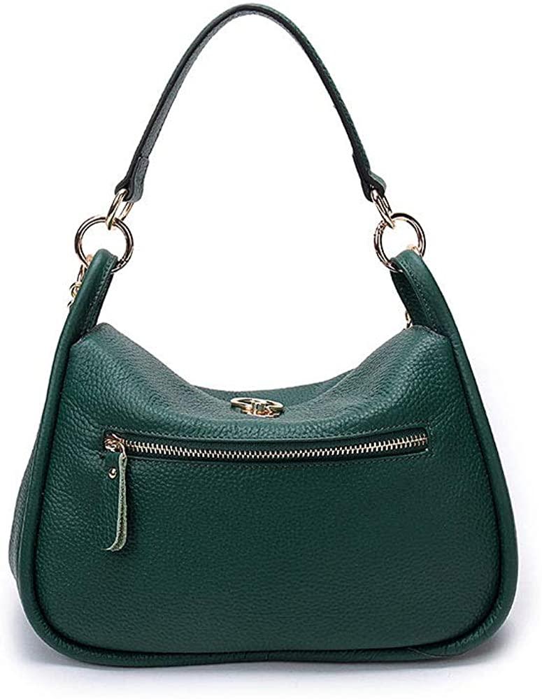 Kalldon Genuine Leather Waist Pouch Hip Belt Bags Men & Women Slim Fanny Pack Purse