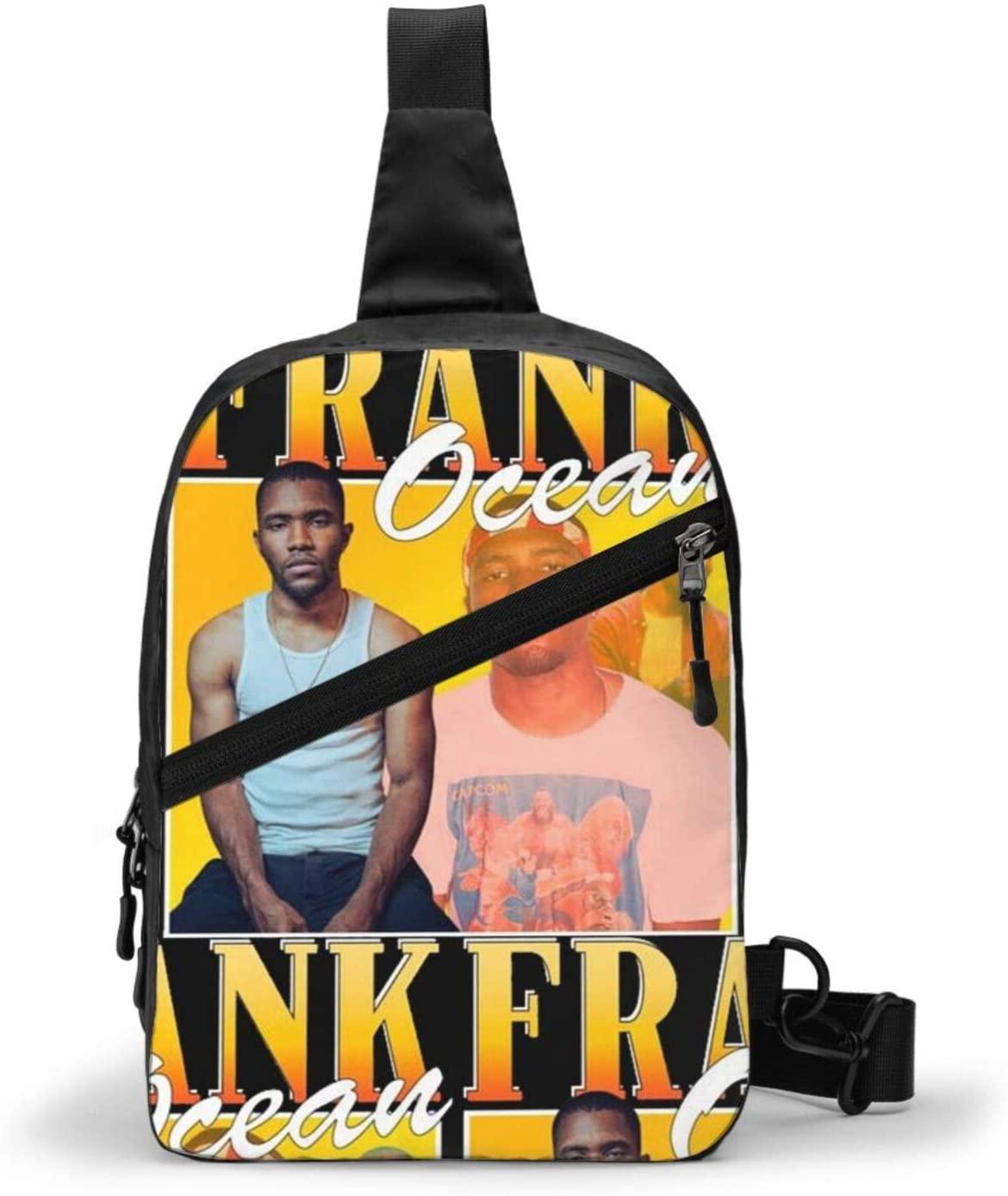 Frank Ocean Backpack Cross Body Bag Sling Bag Chest Pack Bag Men/Women Folding Chest Bag