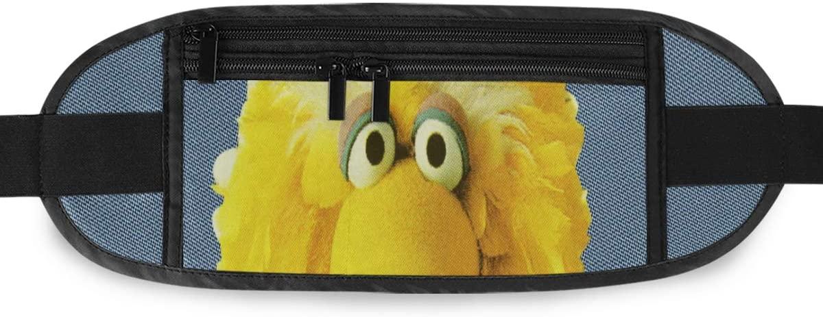 SLHFPX Fallon Big Bird Tease Hidden Money Belt,Fanny Pack,Running Belt,Travel Wallet Pouch,Wasit Packs Bag,Passport Holder,Bum Bag,Belt Bags for Women Men