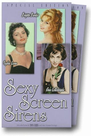 Sexy Screen Sirens [VHS]