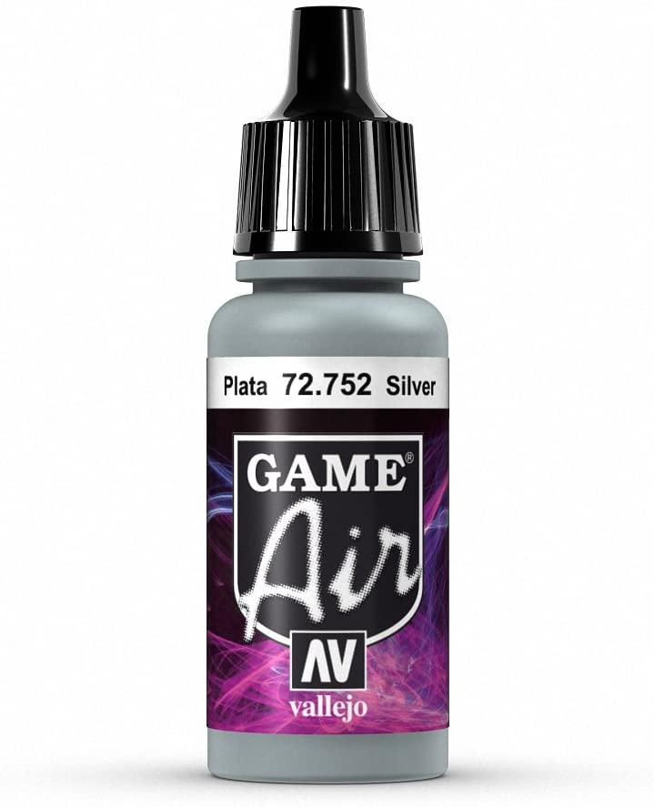 Vallejo Game Air Silver Paint
