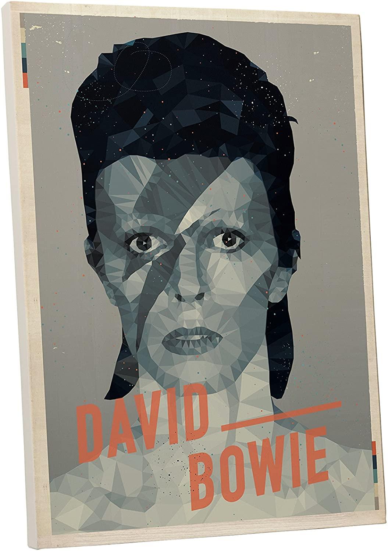 Pingo World 0127QD6ZAC4 David Bowie Pop Art Gallery Wrapped Canvas (30 x 20), 30 x 20