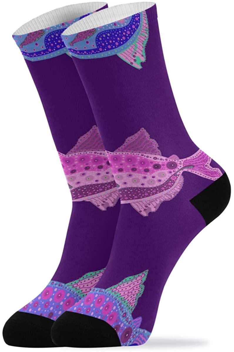 Men and Women Hiking Socks, Soccer Socks Running Socks, Crazy Socks Non-slip,Sport, Athletic,Trave, Leisure, Mountaineering