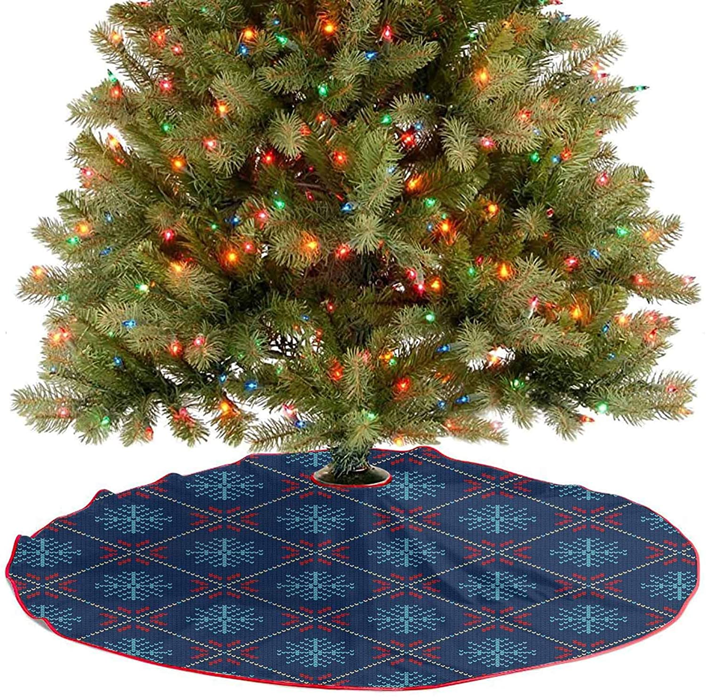 YOYI-Home Tree Skirt Pattern, Nordic Tree Skirts 48