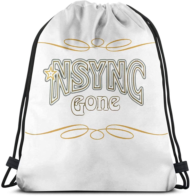 'N Sync Single-Sided Printing, Fashion Classic Back Bag