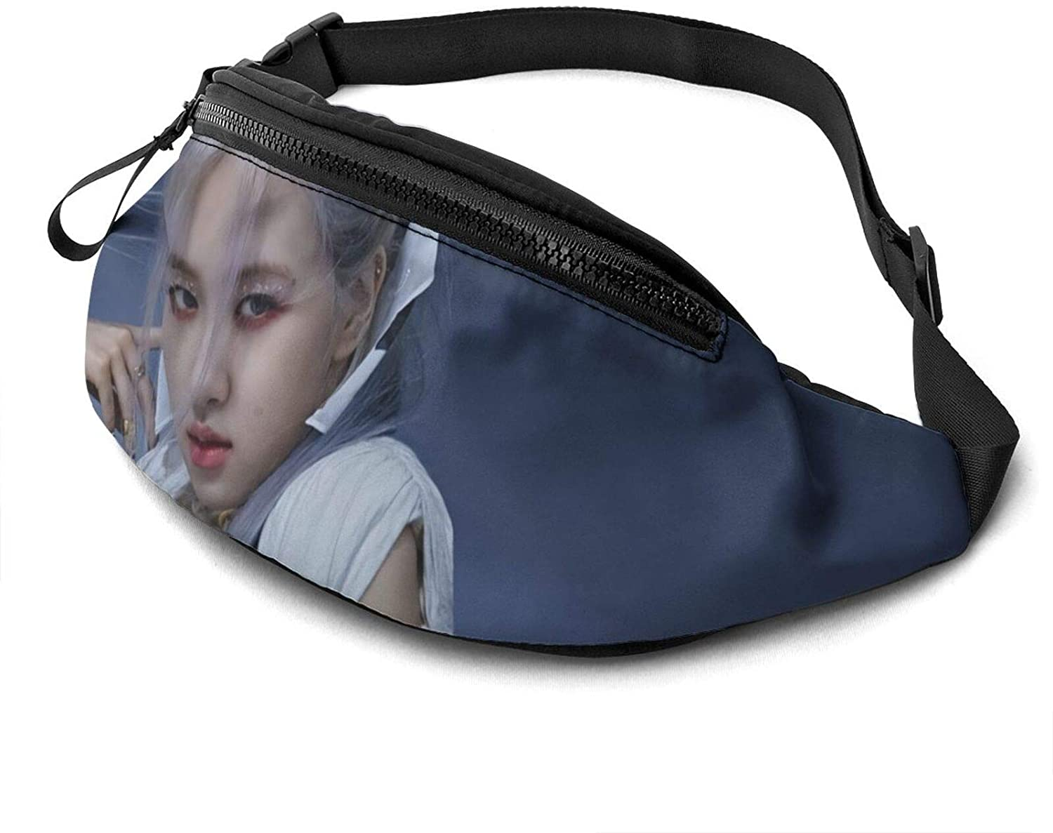 Atsh Blackpink Waist Pack Bag Fanny Pack for Men Women Hip Bum Bag with Adjustable Strap Fashionable and Convenient