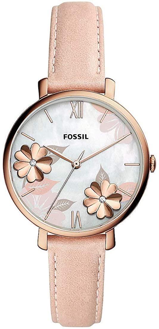 Fossil Jacqueline Quartz White Dial Ladies Watch ES4671