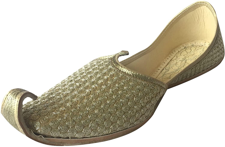 Step n Style Mens Khussa Shoes Punjabi Jutti Rajasthani Mojari Kolhapuri Jaipuri Ethnic Shoes