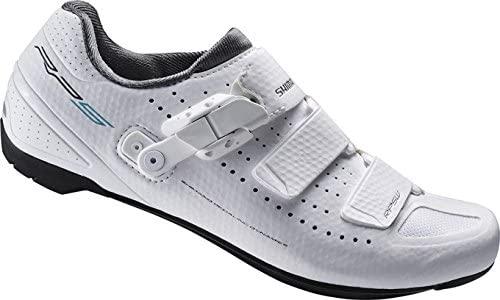 SHIMANO Women's Cycling Shoes Road Shoes Multi-Coloured Multicoloured RP5W Gr. 42SPD-SL Velcro/RATSCHENV, 42, ESHRP5NC420WW00