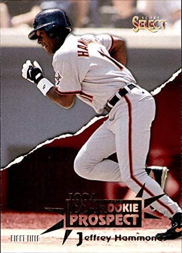 1994 Select #180 Jeffrey Hammonds Baltimore Orioles MLB Baseball Card