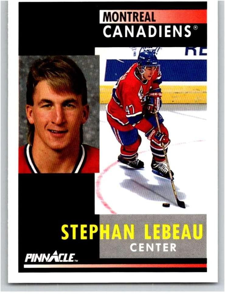 1991-92 Pinnacle #139 Stephan Lebeau Canadiens