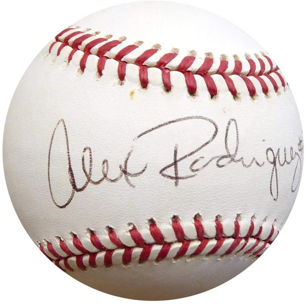 Alex Rodriguez Autographed Official AL Baseball Yankees, Mariners