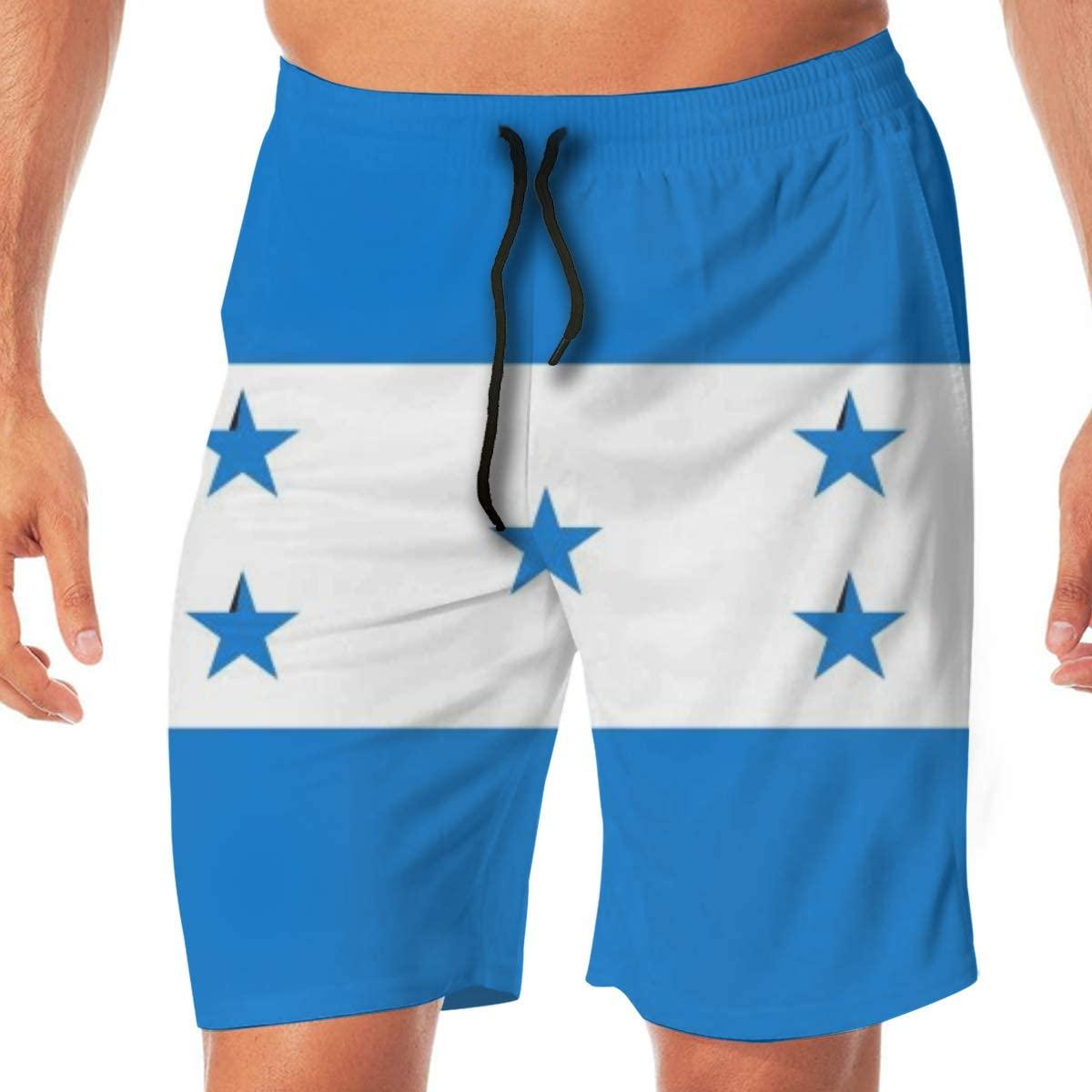 CHEERPEACETIME Men Beach Shorts Swim Trunks Paint Mottled Canada Flag Swimwear Boardshort Pants