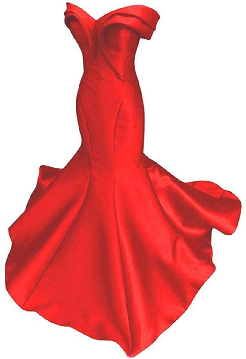 Emmani Womens Mermaid Special Colar Strapless Formal Evening Dresses