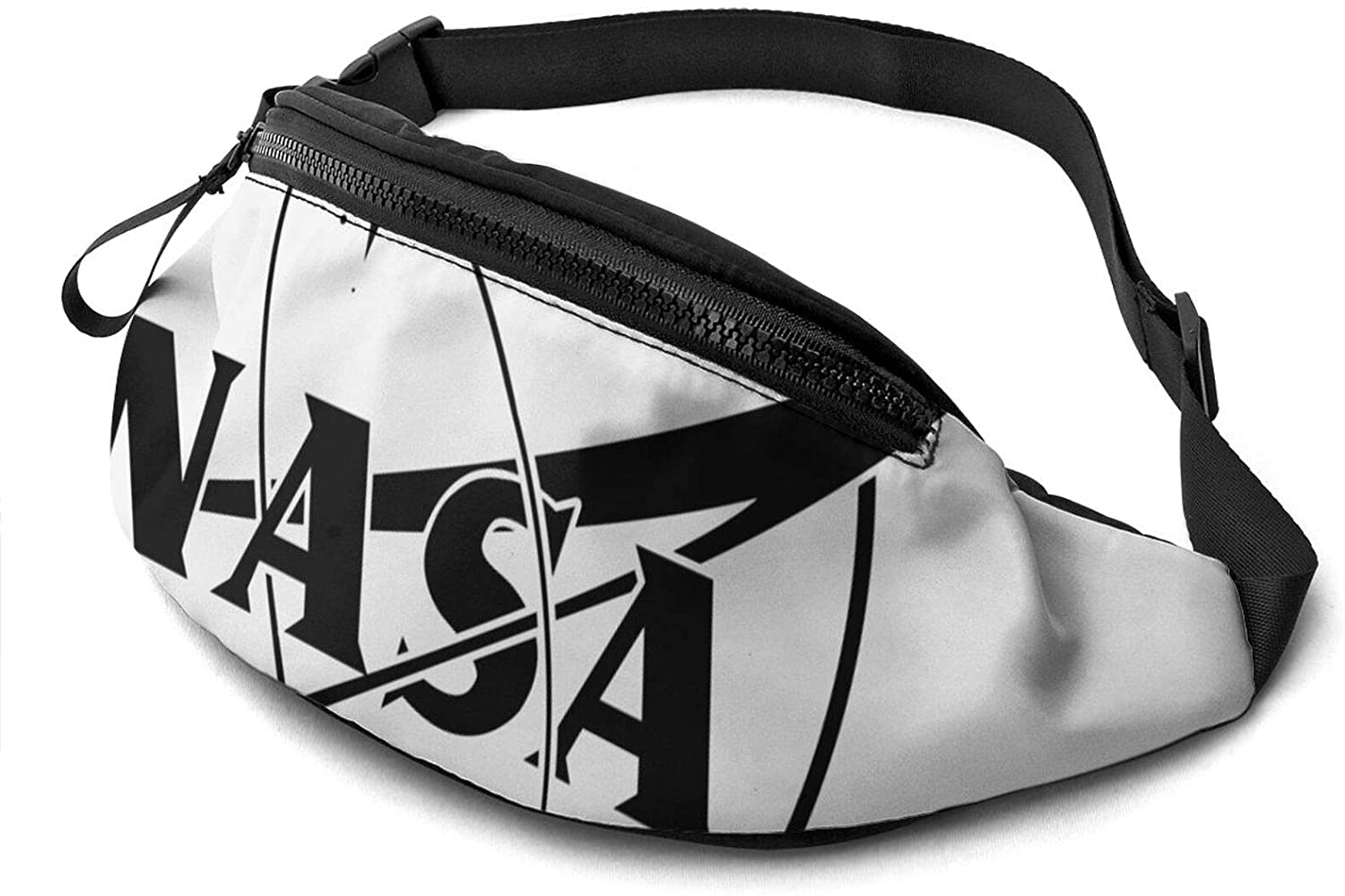 Atsh NASA Waist Pack Bag Fanny Pack for Men Women Hip Bum Bag with Adjustable Strap Fashionable and Convenient