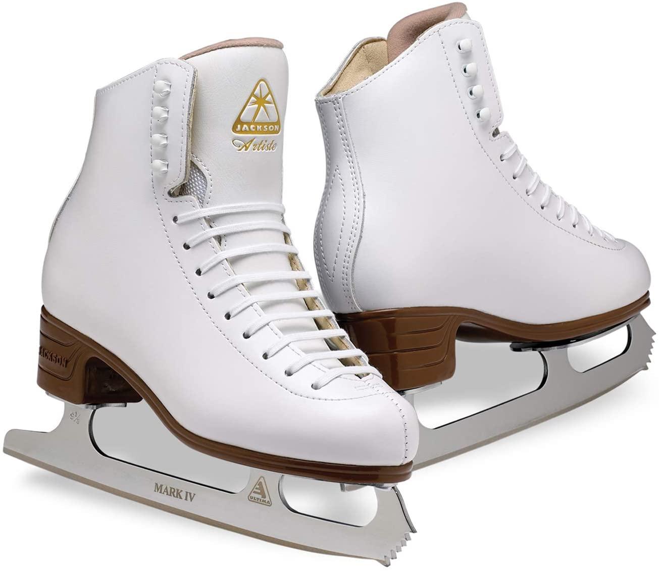 Jackson Ultima Artiste Womens/Girls Figure Ice Skates - Width: C/Size: Adult 9