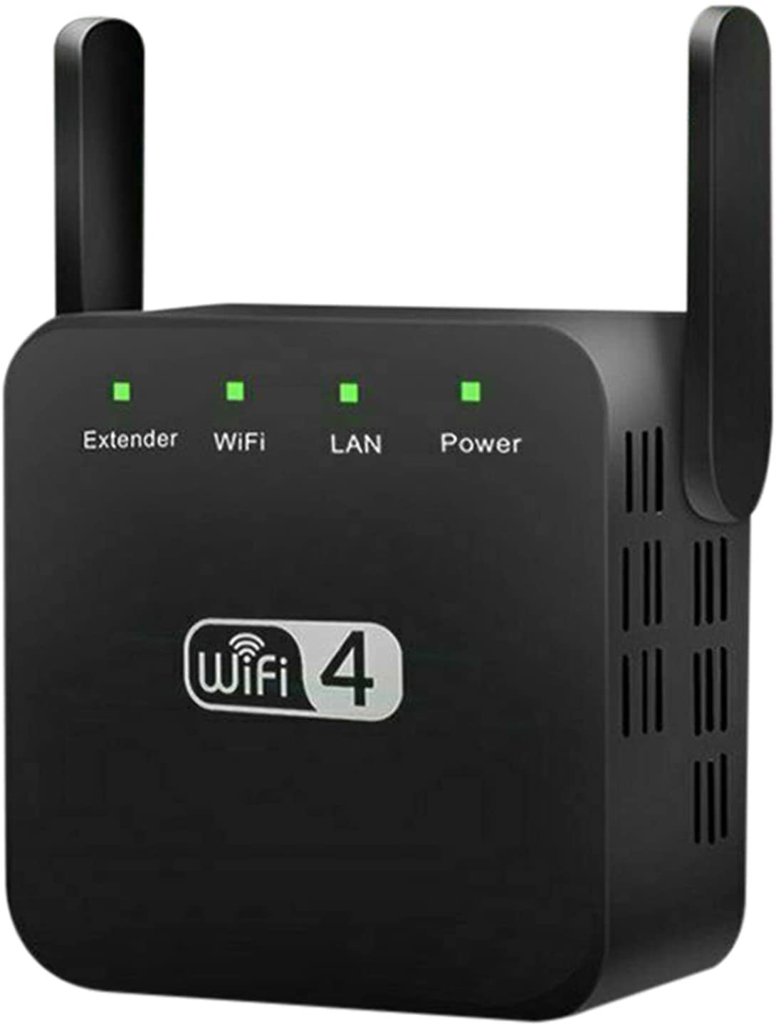 MiaoKa 2.4Ghz Dual Band WiFi Extender, 300M Internet Range Router Signal Booster