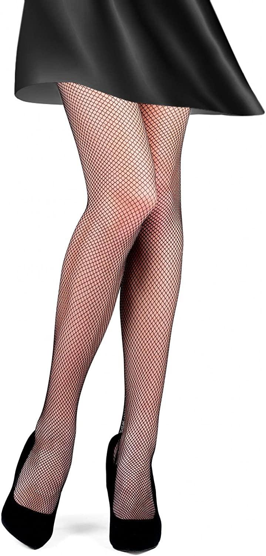 Conte Women's Nude (Natural) Sexy Fishnet Tights Rette Medium Mesh
