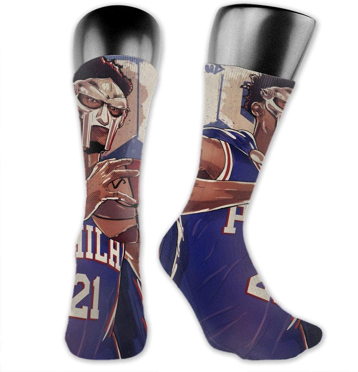 DLAZANA Embiid Crew Socks in Size 3.14 x 15.75 inches