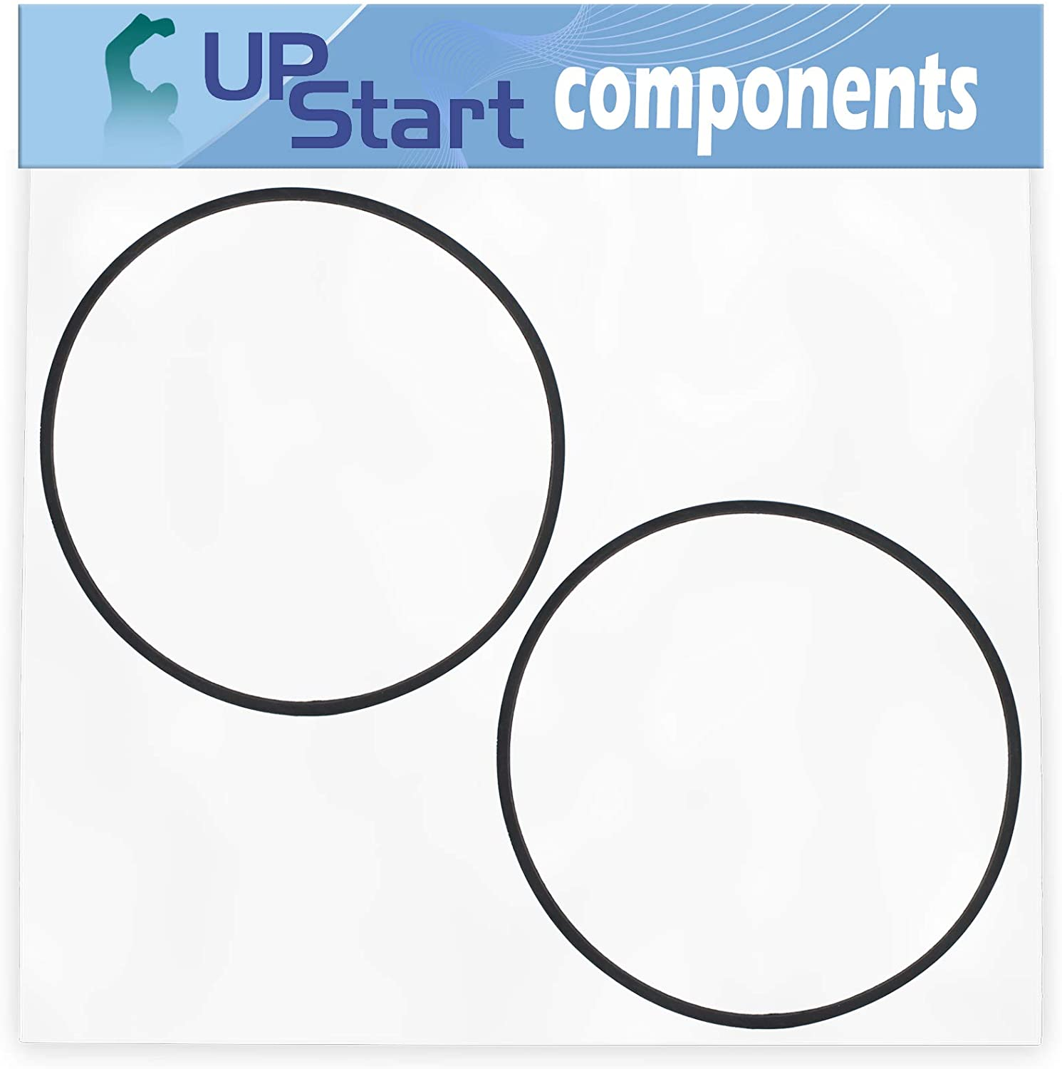 UpStart Components 2-Pack 115-4669 V-Belt Replacement for Toro 20958 (400000000-999999999) 55cm Recycler Lawn Mower - Compatible with 115-4669 Transmission Rear Axle Drive Belt