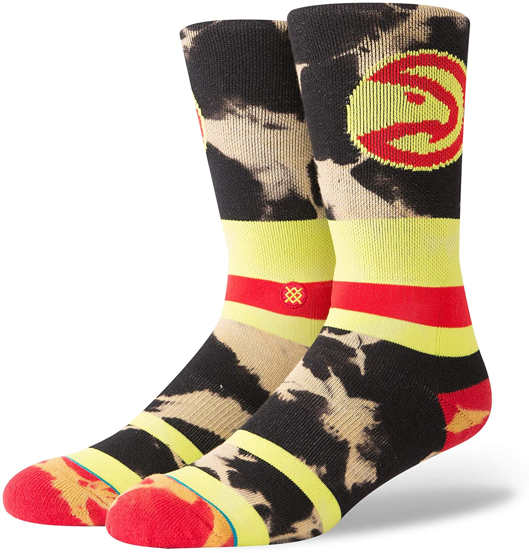 Stance M558C18HAW Mens Hawks Acid Wash Sock