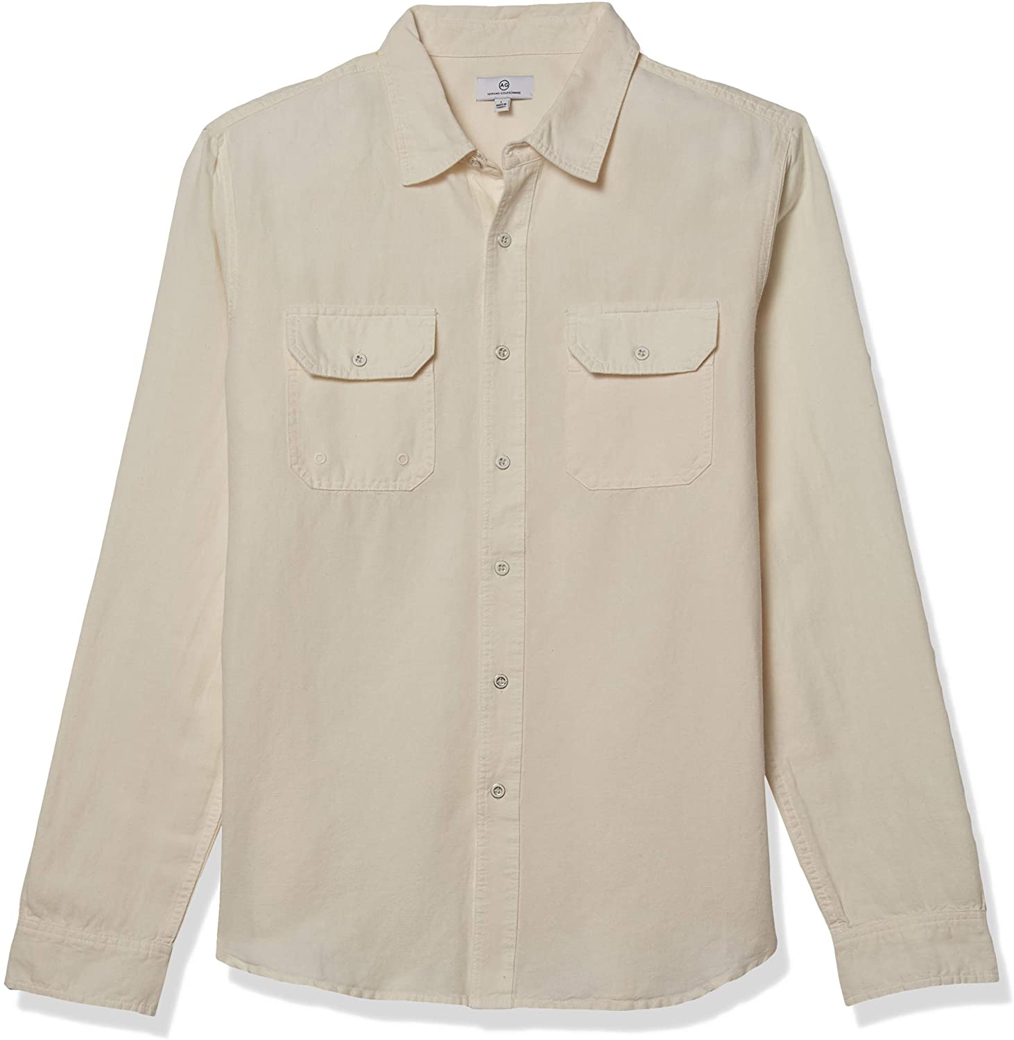 AG Adriano Goldschmied Men's Benning Sleeve Patch Shirt