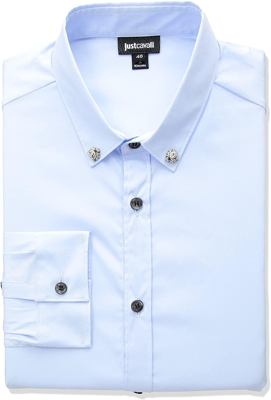 Just Cavalli Mens Classic Slim Fit Shirt