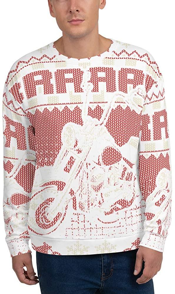 Bikers Braaappp Ugly Christmas Sweater - Biker Bike Lovers Gift - Unisex Sweatshirt