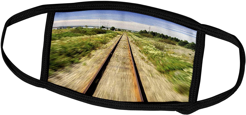 3dRose Quebec. VIA Rail Canada, Montreal to Gaspesie-CN10 CMI0209 -. - Face Covers (fc_75764_2)